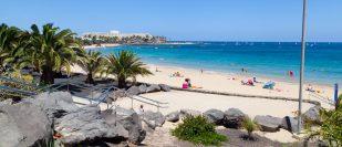 Playas de las cucharas, Costa Teguise, Lan...