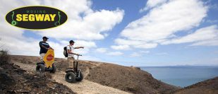 Moving Segway Lanzarote