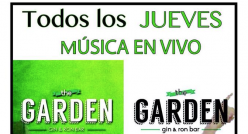Live-Music at 'The Garden, Gin & Ron Bar'